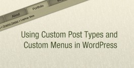 Custom Post Type Custom Menu Post